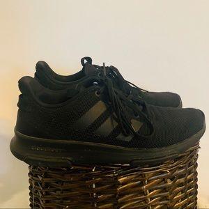 Men's Adidas cloudfoam black size 9